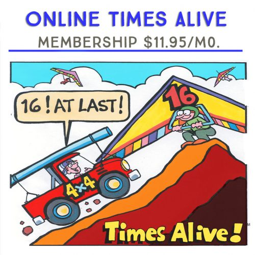 Online Times Alive Month