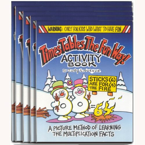 Times Activity Book 5 pack