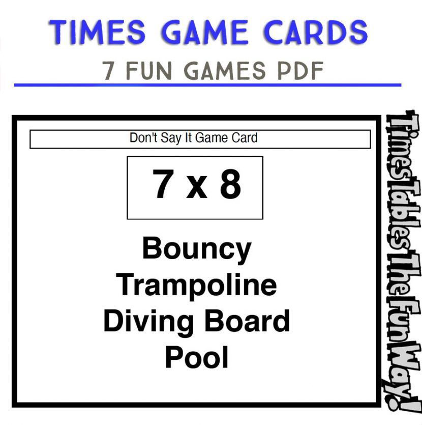 Times Game Cards