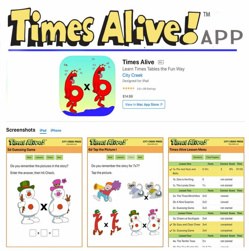 Times Alive App