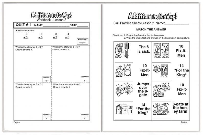 Addition Student Workbook